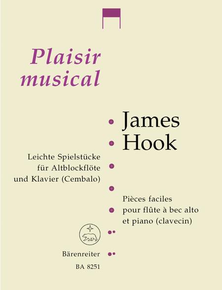 Leichte Spielstuecke for Treble Recorder and Piano (Harpsichord)