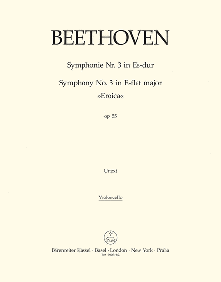 Symphony, No. 3 E flat major, Op. 55 'Eroica'