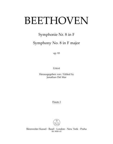 Symphony, No. 8 F major, Op. 93