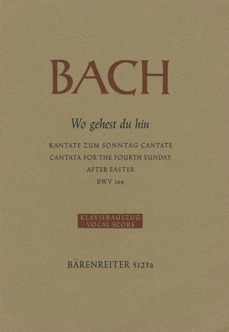 Wo gehest du hin?, BWV 166