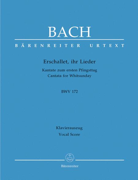 Erschallet, ihr Lieder, BWV 172