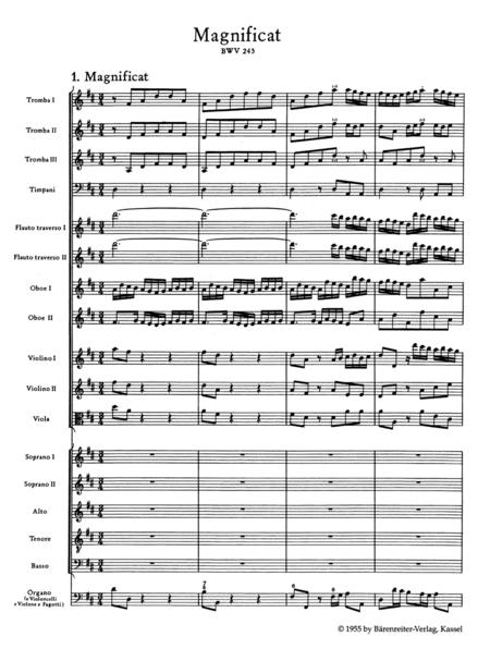 Magnificat In D Major, BWV 243