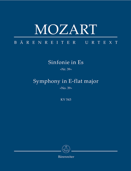 Sinfonie, No. 39 E flat major, KV 543