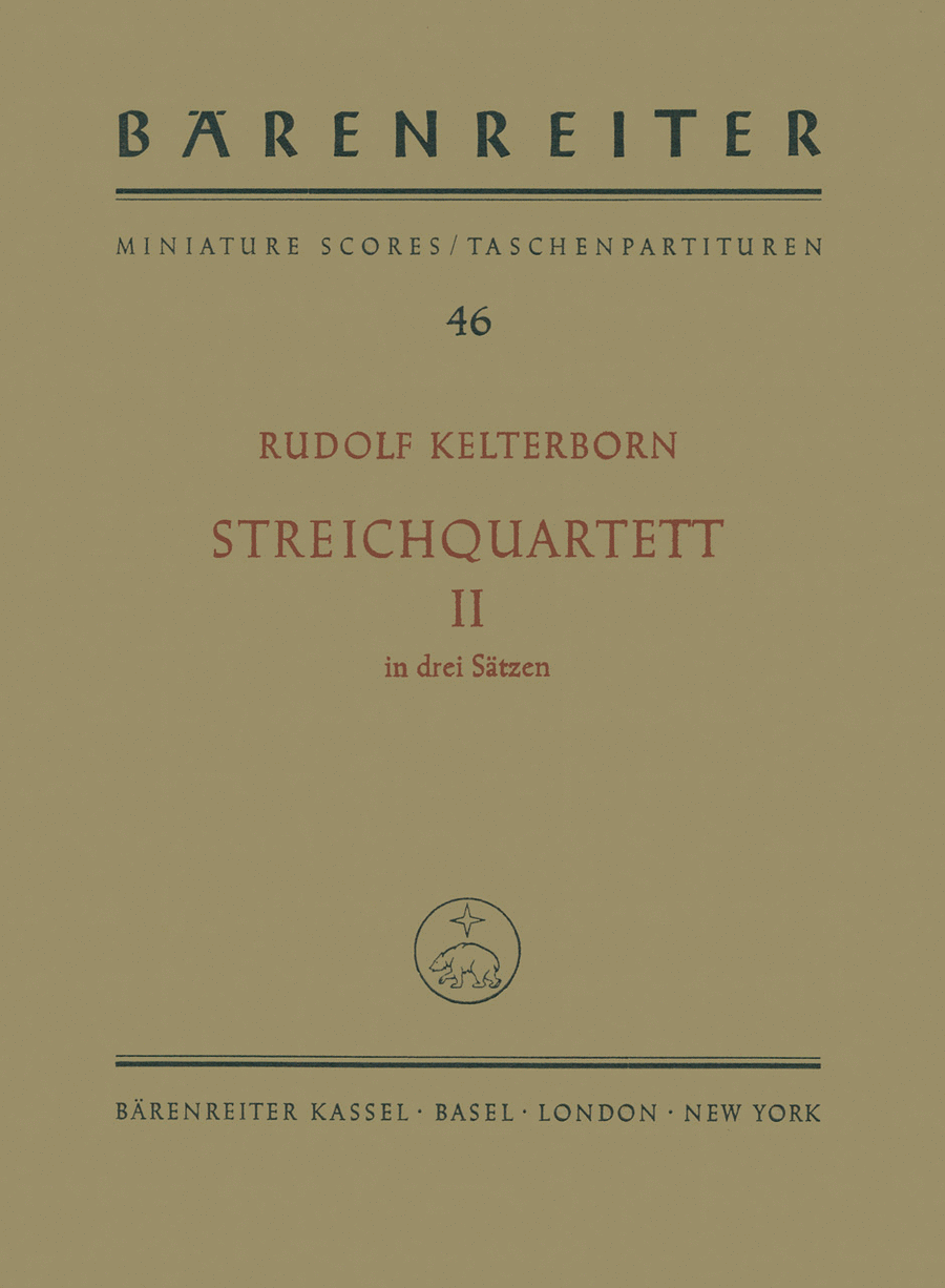 String Quartet, No. 2