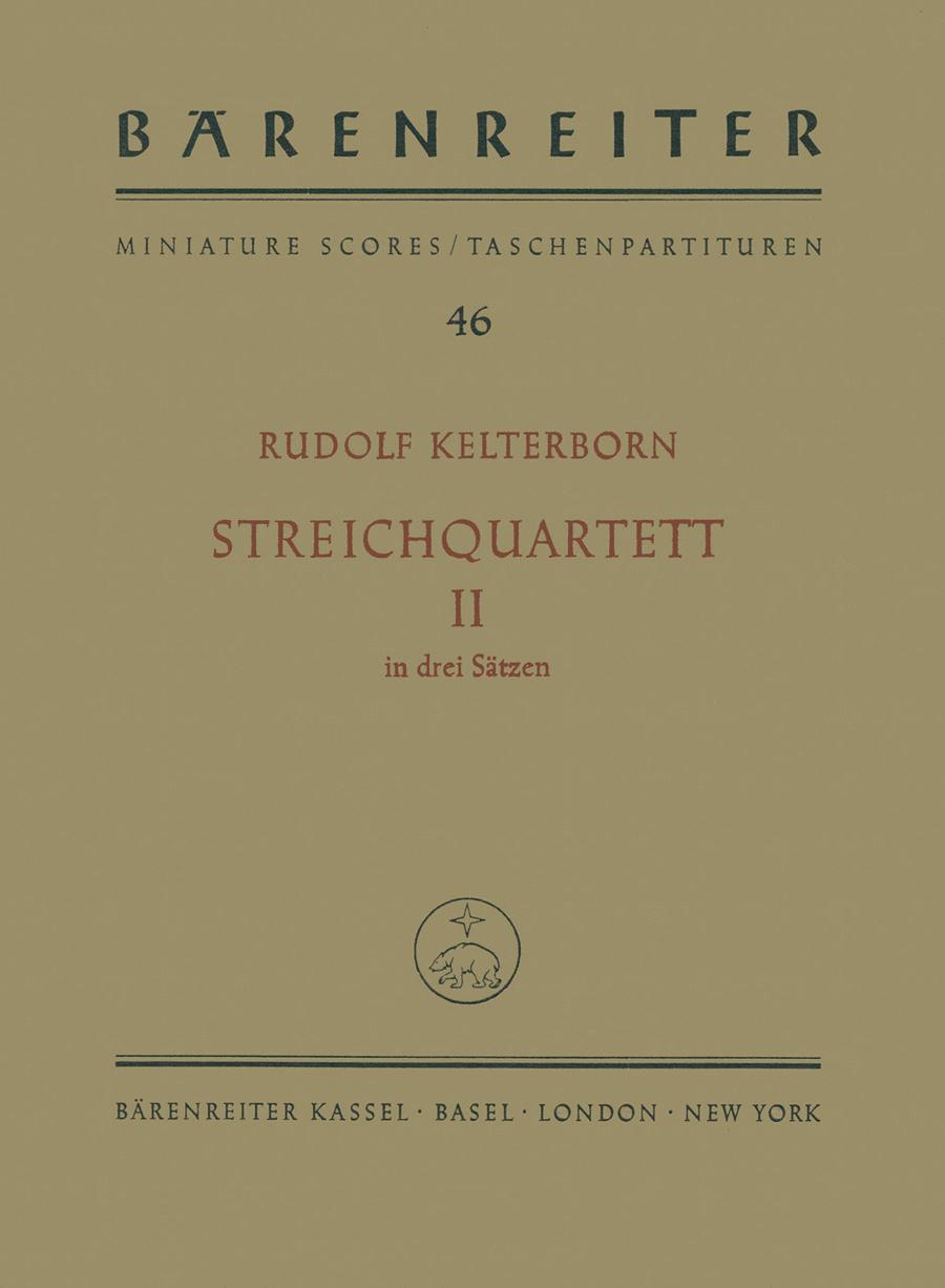 String Quartet, No. 2