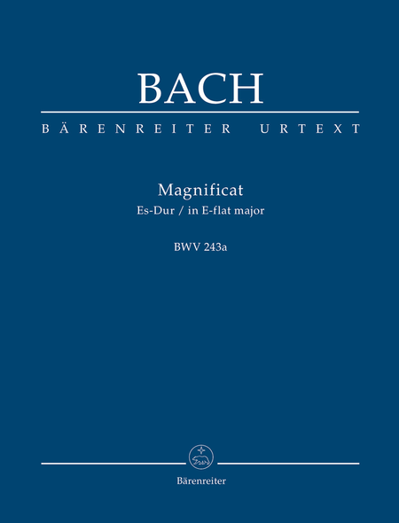Magnificat E flat major, BWV 243a