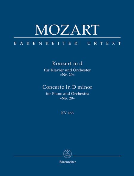 Concerto for Piano and Orchestra, No. 20 d minor, KV 466