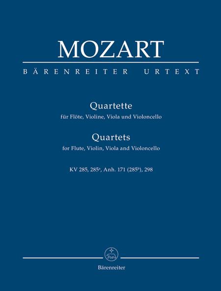 Quartets for Flute, Violin, Viola and Violoncello