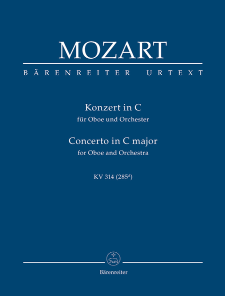 Concerto for Oboe and Orchestra C major, KV 314 (285d)