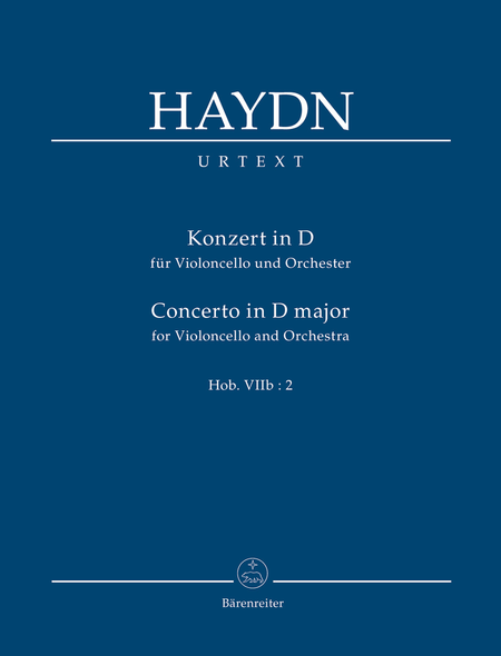 Konzert for Violoncello and Orchestra D major Hob.VIIb:2