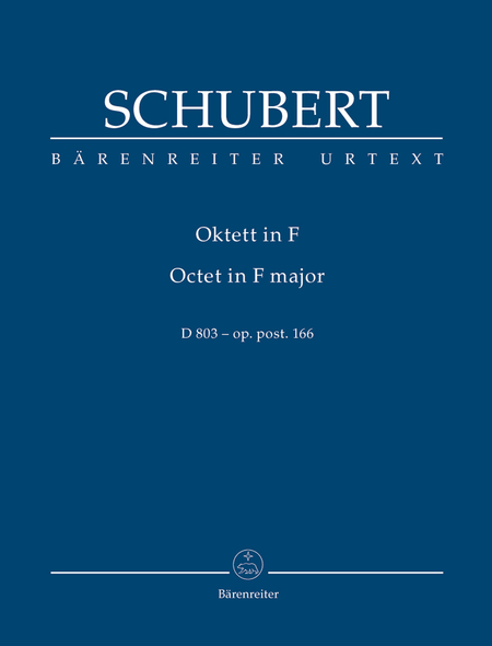 Octet F major, Op. post.166 D 803