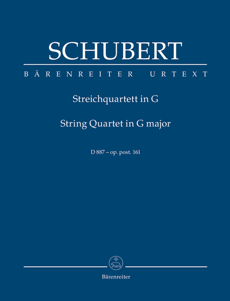 String Quartet G major op. post. 161 D 887