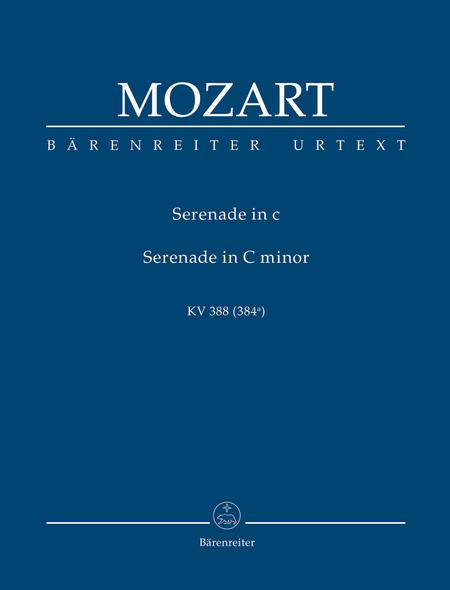 Nachtmusique fur zwei Oboen, zwei Klarinetten, zwei Horner und zwei Fagotte c minor KV 388 (384a)