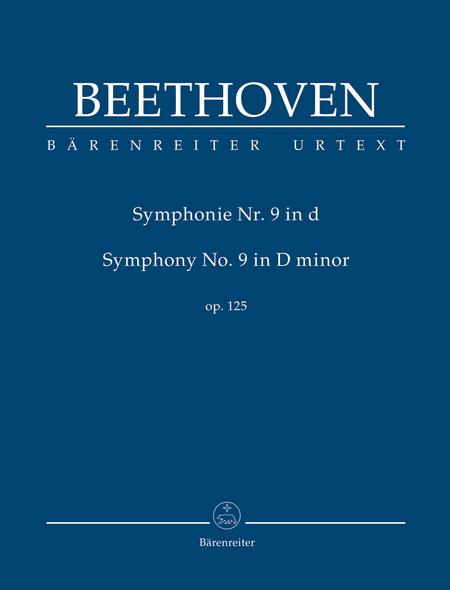 Symphony, No. 9 d minor, Op. 125