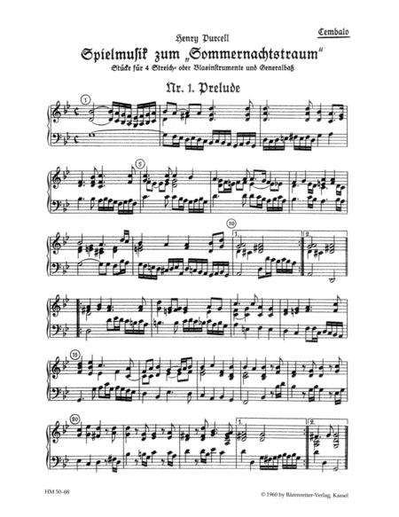 Spielmusik zum Sommernachtstraum