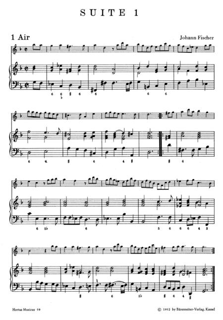 Vier Suiten for Recorder (Violin, Flute, Oboe) and Basso continuo