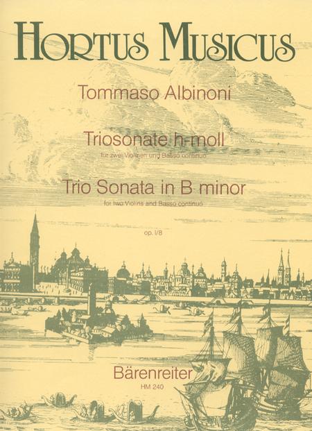 Trio Sonata for two Violins and Basso continuo b minor op. 1/8