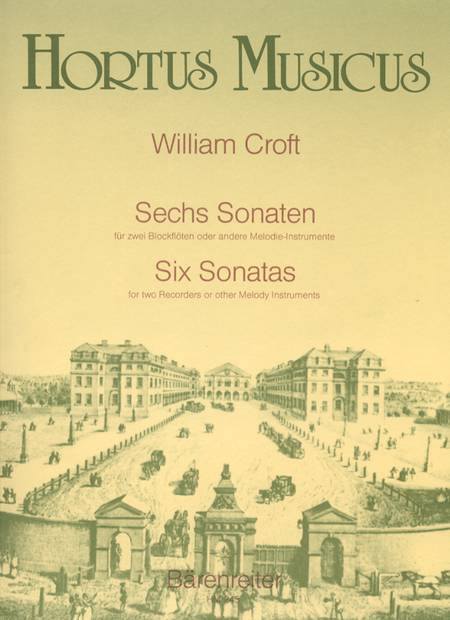 Sechs Sonaten fur zwei Altblockfloten oder andere Instrumente
