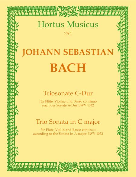 Trio Sonata for Flute, Violin and Basso continuo C major