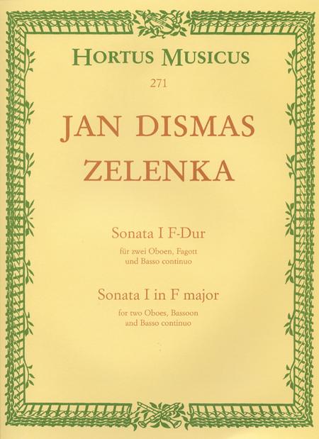 Sonata I fur zwei Oboen, Fagott und Basso continuo fur zwei Oboen, Fagott und Basso continuo F major ZWV 181/1