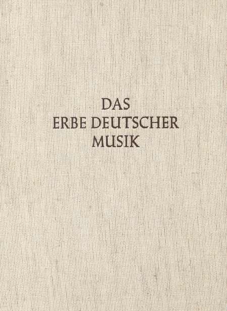 Musicalische Fruhlings-Fruchte und Hamburger Handschrift. Das Erbe Deutscher Musik V/10