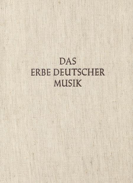 3 mehrchorige Festkonzerte fur die Freie Reichsstadt Frankfurt/M. Das Erbe Deutscher Musik, Landschaftsdenkmale Rhein-Main-Gebiet 1