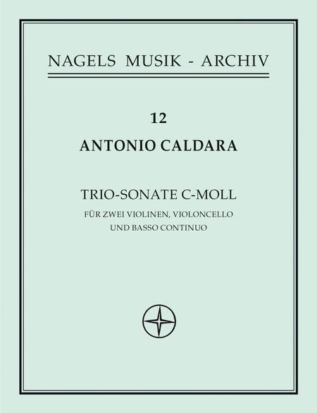 Sonate fur 2 Violinen, Violoncello und Basso continuo c minor, Op. 1/6