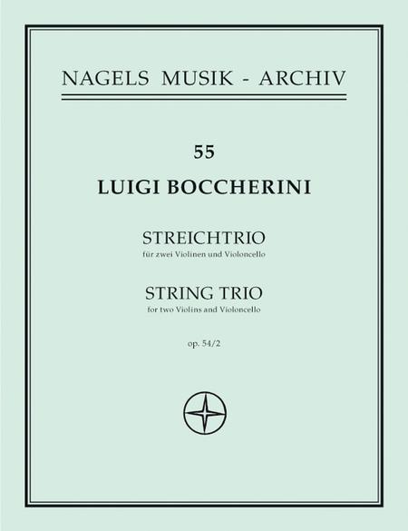 Streichtrio G major, Op. 54/2