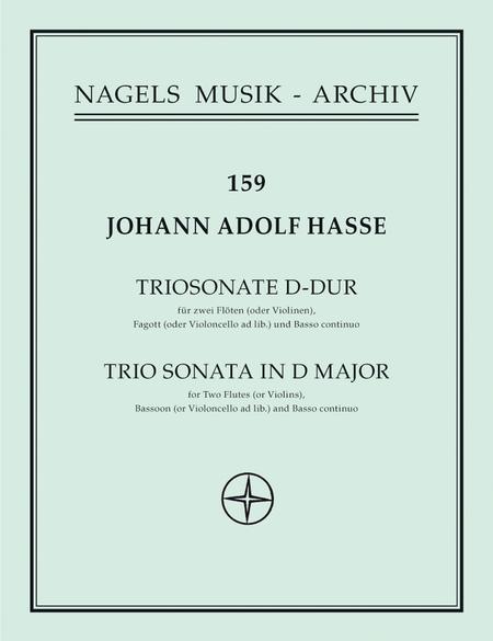 Triosonate D major