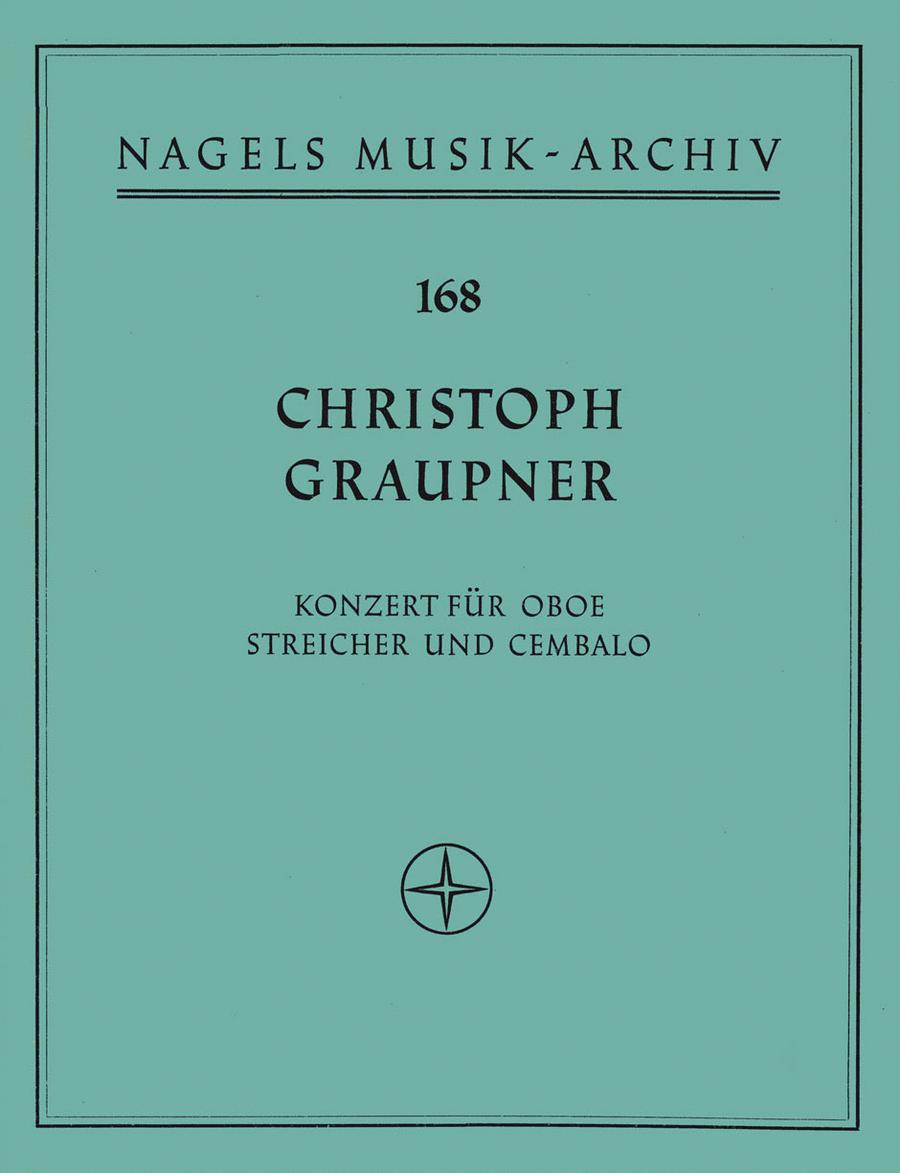 Konzert fur Oboe, Streicher und Basso continuo F major