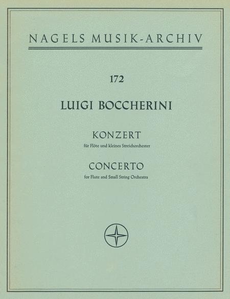 Konzert fur Flote und Streicher D major, Op. 27