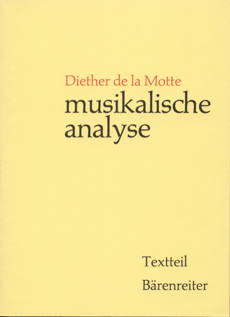 Musikalische Analyse