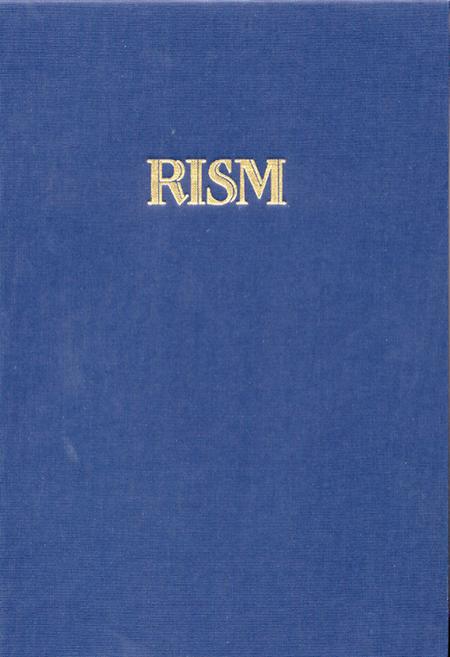 Internationales Quellenlexikon der Musik (RISM), Serie C. Directory of Music Research