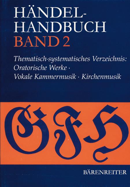 Handel-Handbuch Band 2