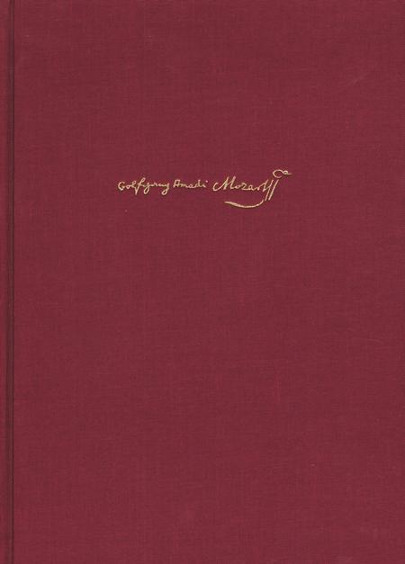 Mozart-Dokumente. Neue Folge