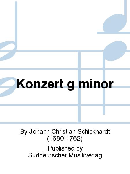 Konzert g minor