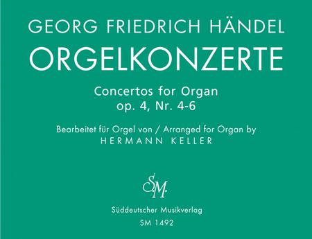 Orgelkonzerte fur Orgel allein mit Pedal. Heft 2, Op. 4