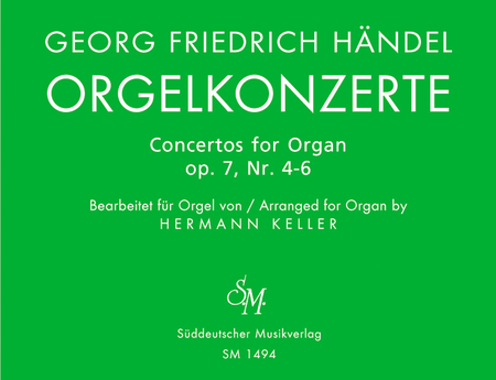 Orgelkonzerte, Nr. 4-6, Op. 7