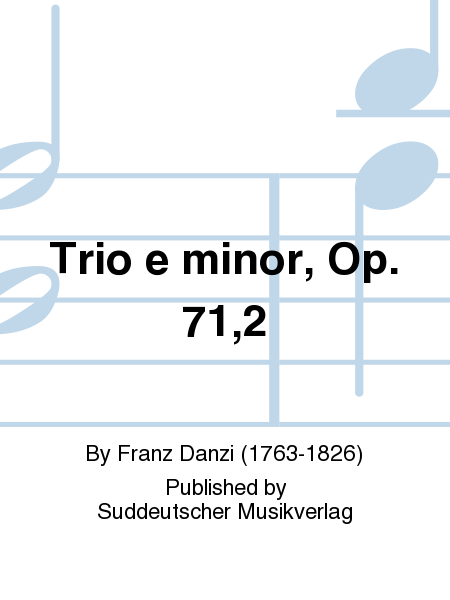 Trio e minor, Op. 71,2