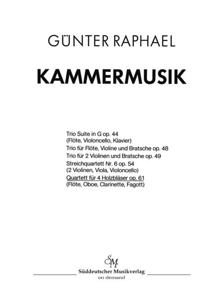 Quartett (1945), Op. 61