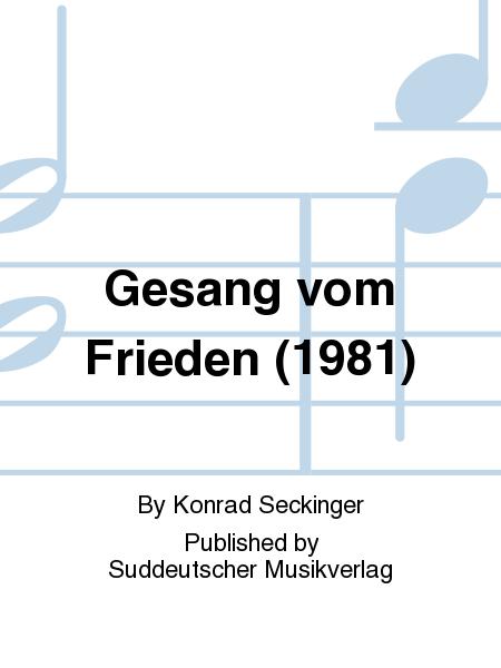Gesang vom Frieden (1981)