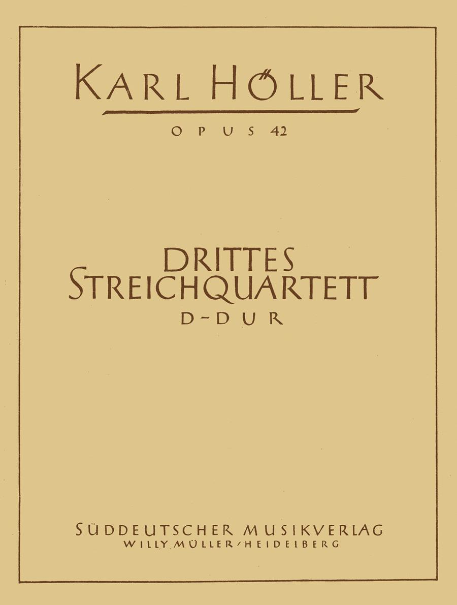 Drittes Streichquartett D major, Op. 42