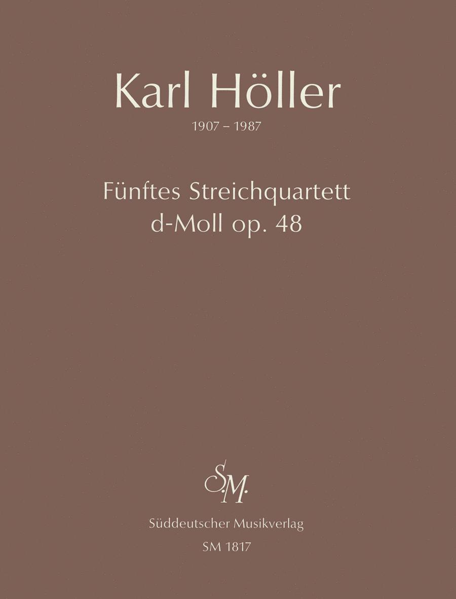Funftes Streichquartett (1948) d minor, Op. 48