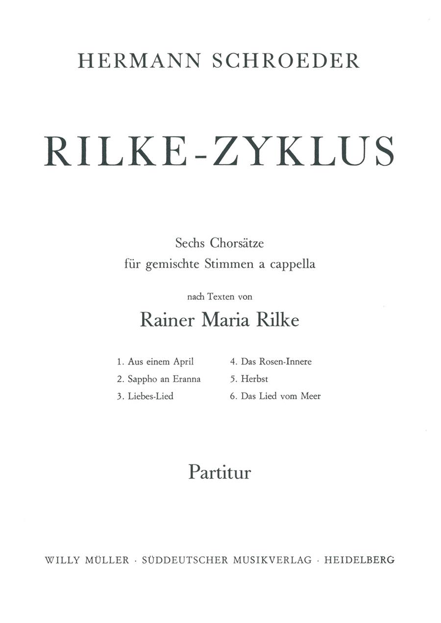 Rilke-Zyklus