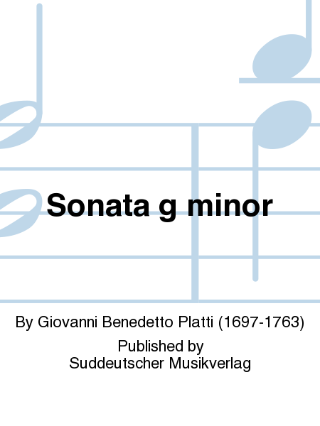 Sonata g minor