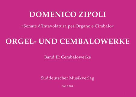 Orgel- und Cembalowerke, Band 2: Cembalowerke
