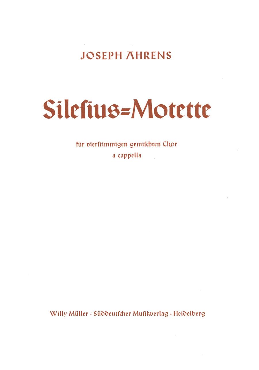 Silesius Motette