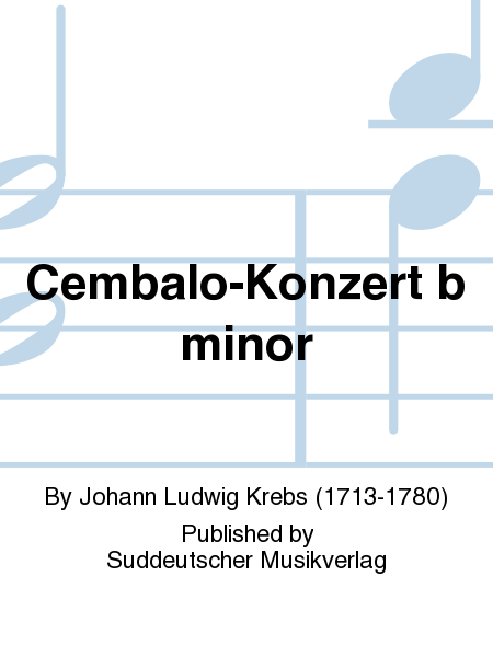 Cembalo-Konzert b minor