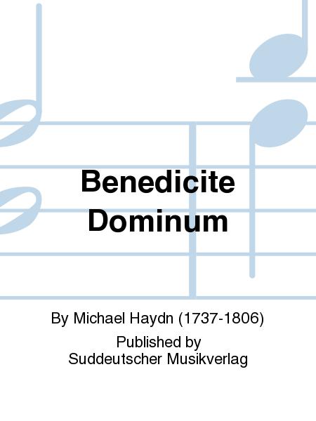 Benedicite Dominum