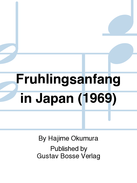Fruhlingsanfang in Japan (1969)